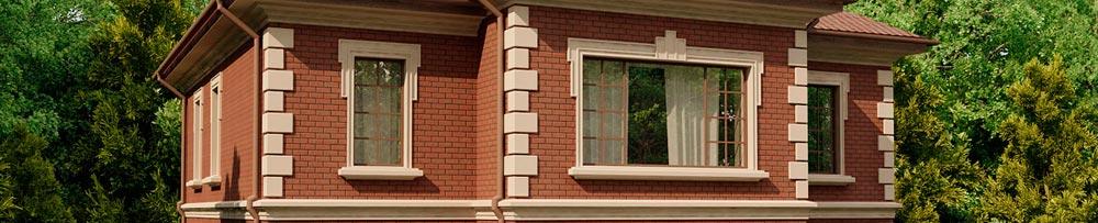 Деревянные окна для загородных коттеджей