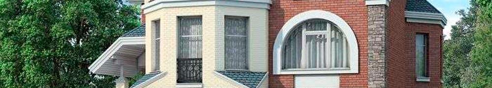 Окна в коттедже